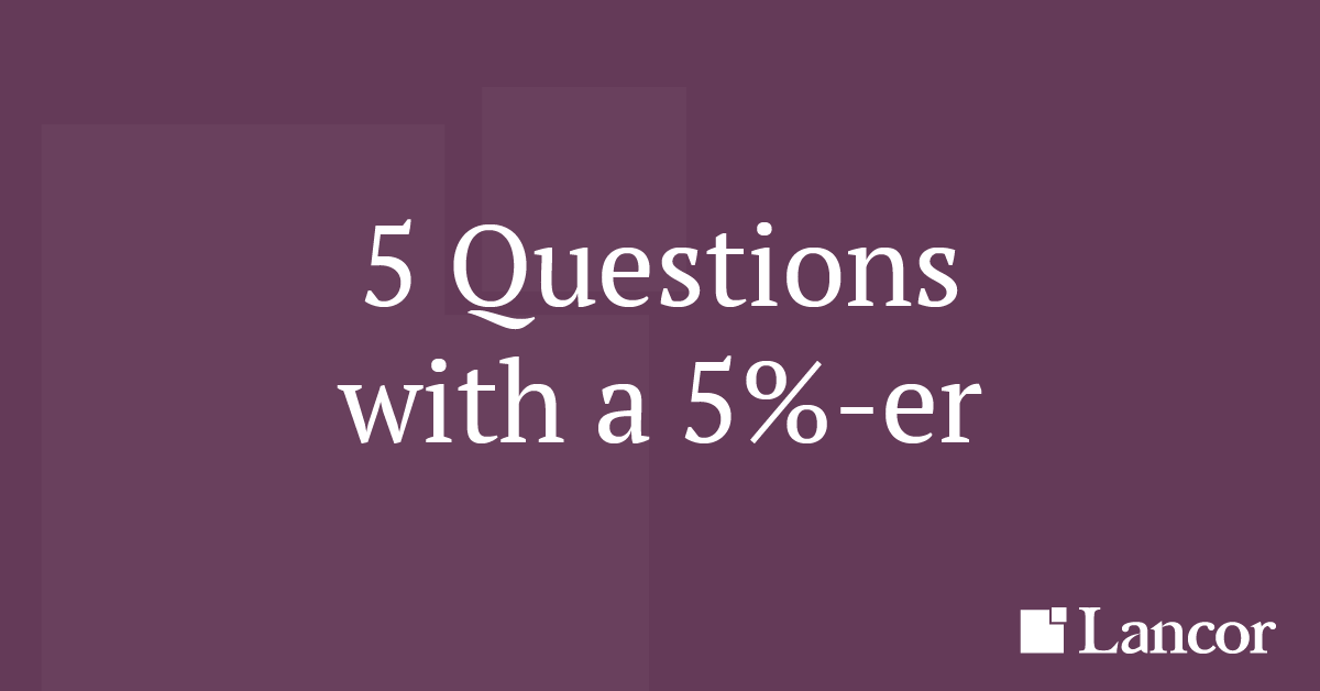 5 questions with a CEO