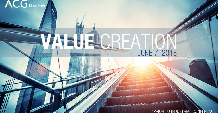 ACG New York Value Creation Conference